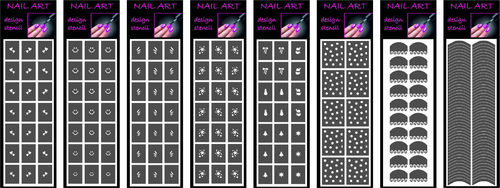 IDEA REGALO STENCIL NAIL ART